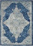 Nourison Persian Vintage Prv02 Ivory - Turquoise Area Rug
