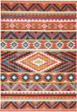 Nourison Tribal Decor Trl04 Orange Area Rug