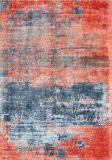 Nourison Safari Dreams Ki374 Blue - Brick Area Rug