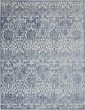 Nourison Vintage Decor Vid01 Smokey Grey Area Rug