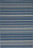 Nourison Lido Lid01 Navy - Cream Area Rug
