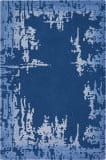 Nourison Symmetry Smm02 Navy Blue Area Rug