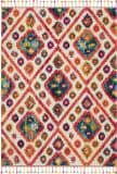 Nourison Moroccan Casbah Mcb03 Ivory - Pink Area Rug