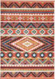 Nourison Navajo Nav04 Orange Area Rug