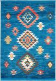 Nourison Tribal Decor Trl07 Blue Area Rug