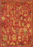 Nourison Vintage Tradition Vgt04 Red Area Rug