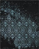 Nourison Opaline Opa06 Midnight Blue Area Rug