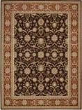 Nourison Persian Crown Pc001 Dark Brown Area Rug