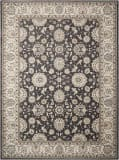 Nourison Persian Crown Pc002 Charcoal - Ivory Area Rug