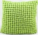 Nourison Pillows Pom Pom36 Green