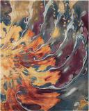 Nourison Prismatic Prs08 Multicolor Area Rug