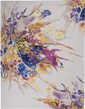 Nourison Prismatic PRS20 Grey Lilac Multi Area Rug