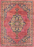 Nourison Passionate Pst01 Pink Flame Area Rug