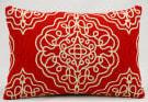 Nourison Pillows Wool Q5116 Vermillion