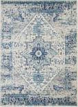Nourison Tranquil Tra06 Ivory - Light Blue Area Rug