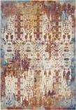 Nourison Radiant Rad04 Ivory - Multicolor Area Rug