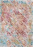 Nourison Radiant Rad09 Grey - Multicolor Area Rug