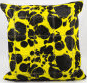 Nourison Pillows Natural Leather Hide S1999 Yellow