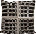 Nourison Mina Victory Pillows S6112 Grey Black