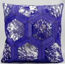 Michael Amini Pillows S6280 Purple Silver