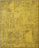 Nourison Silk Infusion Sif02 Yellow 605 Area Rug