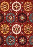 Nourison Suzani Suz01 Red Area Rug