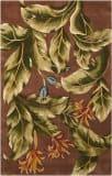 Nourison Tropics TS-02 Khaki Area Rug