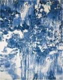 Nourison Twilight Twi24 Blue - Ivory Area Rug