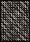 Nourison Ultima Ul322 Ivory - Black Area Rug