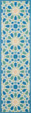 Nourison Wav01 - Sun And Shade Snd29 Porcelain Area Rug