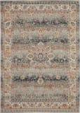 Nourison Vintage Kashan Vka01 Grey Area Rug