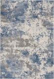 Nourison Rustic Textures Rus08 Grey - Blue Area Rug