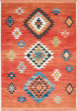 Nourison Tribal Decor Trl07 Red Area Rug