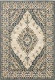 Oriental Weavers Fiona 8020W Beige - Blue Area Rug