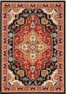 Oriental Weavers Lilihan 4929A Black - Red Area Rug