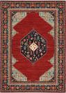 Oriental Weavers Lilihan 5503M Red - Blue Area Rug