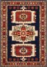 Oriental Weavers Lilihan 090B6 Blue - Red Area Rug