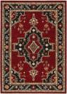 Oriental Weavers Lilihan 092R6 Red - Black Area Rug