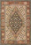 Oriental Weavers Toscana 9545D Orange - Blue Area Rug