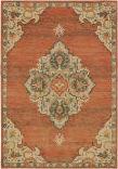 Oriental Weavers Toscana 9568B Orange - Grey Area Rug