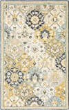 Oriental Weavers Alfresco 28406 Blue - Gold Area Rug