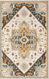 Oriental Weavers Alfresco 28407 Ivory - Charcoal Area Rug