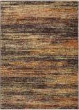 Oriental Weavers Atlas 8037c Gold - Charcoal Area Rug