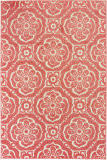 Oriental Weavers Barbados 539o4 Pink - Ivory Area Rug