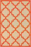 Oriental Weavers Cayman 660o Sand - Orange Area Rug
