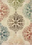Oriental Weavers Dawson 8522b Ivory - Multi Area Rug