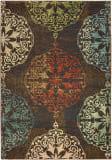 Oriental Weavers Dawson 8522c Brown - Multi Area Rug