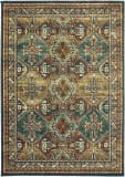 Oriental Weavers Dawson 8527a Teal - Brown Area Rug