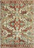Oriental Weavers Dawson 8533a Rust - Ivory Area Rug