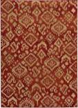 Oriental Weavers Ella 5113d Red / Beige Area Rug